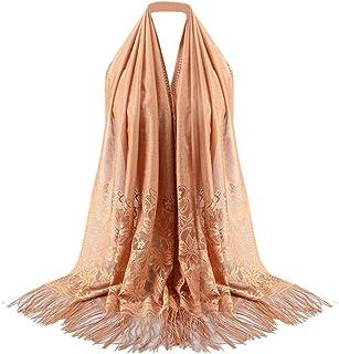 YUANCHENG Schal Frauen Quaste Spitze Hollow Long Hijab Schal Schal Wrap Stola