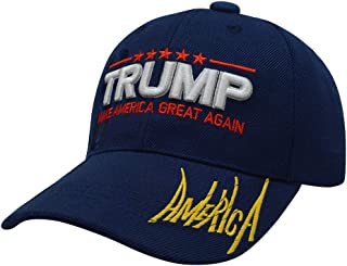 Keep America Great Trump 2020 Cap with USA Flag Embroidered Donald Trump Baseball Caps Adjustable hat