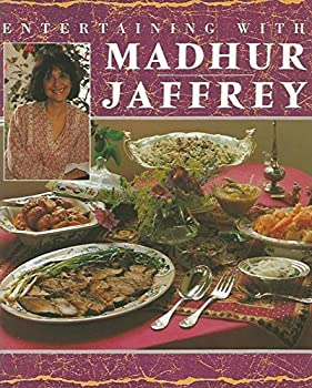 Entertaining With Madhur Jaffrey 1857933699 Book Cover