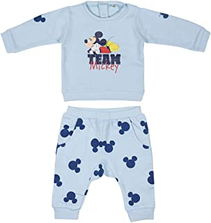 ARTESANIA CERDA Toallita Muselina Mickey Ful/ár Azul Tama/ño del fabricante:70X70 CM para Beb/és One Size Azul C37