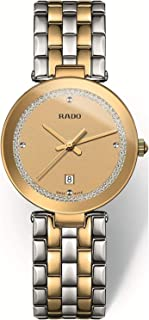 Rado Women's Beige Dial Metal Band Watch - R48872263