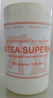 Tongkatali.org's Butea Superba extract, 300 grams, 139 AUD