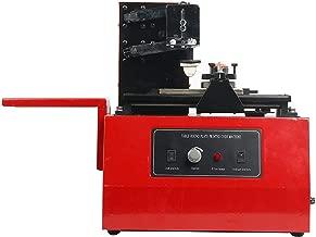 YaeTek Electric pad Printer Printing Machine t-Shirt Ball Pen Desktop Press Oil Ink