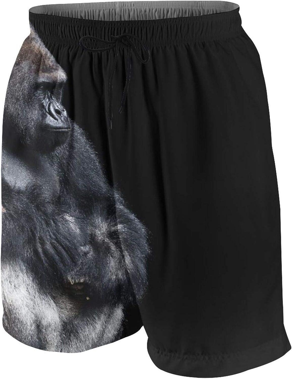 Kaireno Men's Casual Board Shorts Quick Dry Swim Beach Trunks Sportswear Mesh Lining