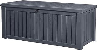 KETER Coffre de rangement extérieur ROCKWOOD - 570 litres