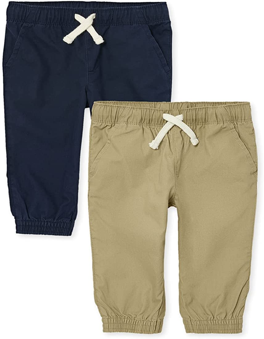 The Children's Place Baby Toddler Pants Jogger Boys Recommended Max 56% OFF