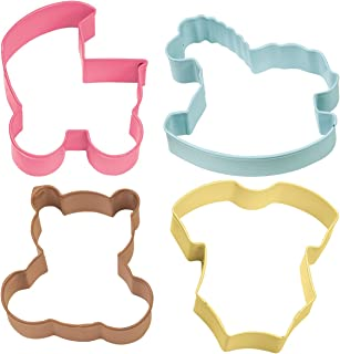 Wilton Metal Cookie Cutter Set, Other, Multi-Colour