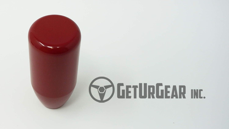 GetUrGear Custom Direct Fit Weighted Shift Knob for WRX//STI 2011-2014//2015-2018 500grams // 17.637oz Black