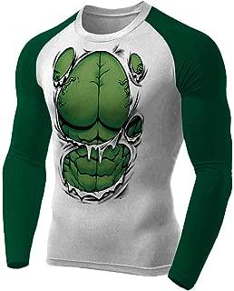 Rash Guard Hulk Masculina Atlética