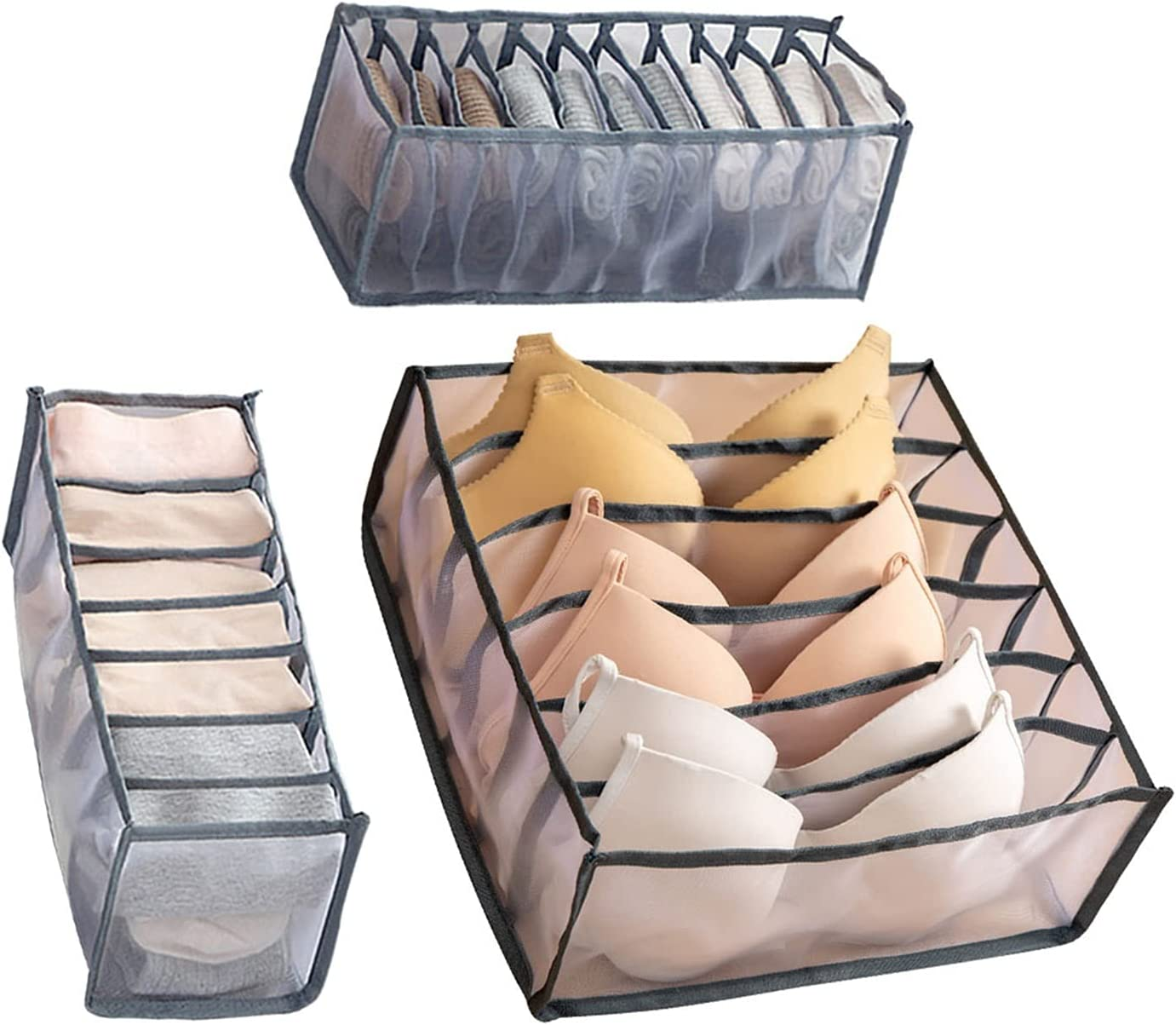 Ranking TOP6 LYDE Storage Bag Max 88% OFF Under-Bed 2 Bo Pieces Underwear