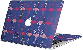 MacBook Air 13inch A1466 / A1369 専用スキンシール 2010~2017モデルまで対応 マックブック エア Mac Air 13インチ ノートブック フィルム ステッカー アクセサリー 保護 011642 フラミンゴ 動物 アニマル