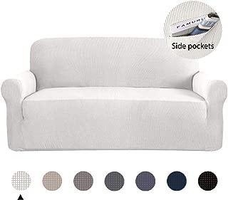 Marchtex Anti-Slip Modern Spandex 1 Pieces Sofa Cover...