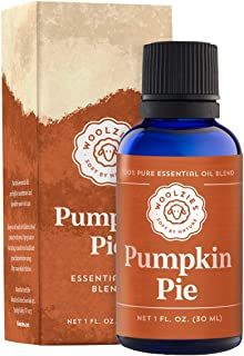 Woolzies 100% Pure & Natural Holiday Pumpkin Pie Essential Oil Blend 1 Fl Oz | Highest Quality Aromatherapy Therapeutic Grade Oil | For Diffuse, Internal & Topical Use
