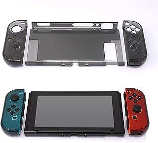 Antetek Capa protetora de policarbonato rígido com design magnético compatível com Nintendo Switch, capa de cor clássica a...