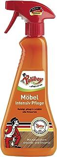 Poliboy - Möbel Intensiv Pflege - hervorragend zur Reinigung, Pflege und zum Schutz von Möbeloberflächen aller Art - Sprühmatic 375 ml - Made in Germany