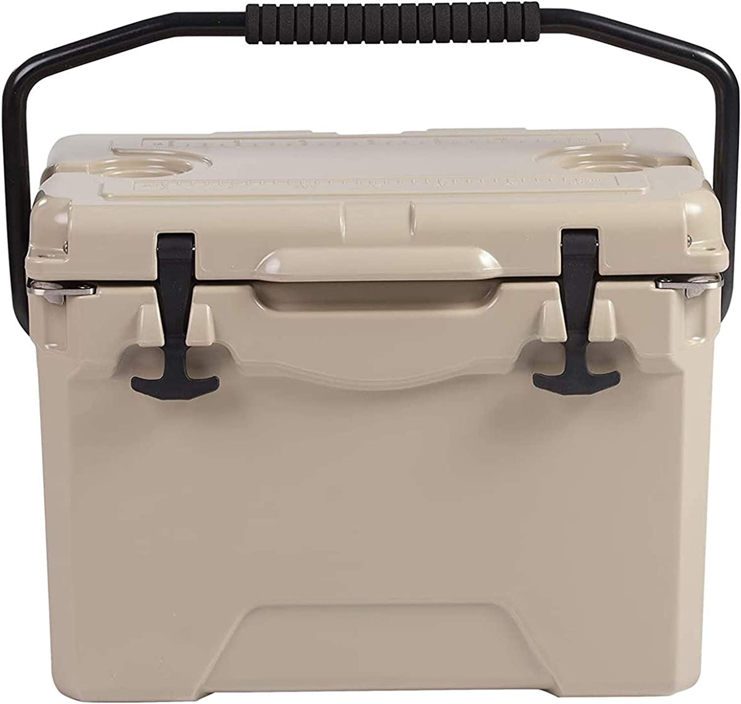 LUCKYERMORE Portable Shipping included 25QT Ice Insulated Cooler Rotomolded Outlet SALE