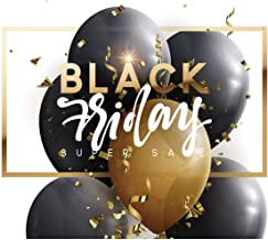 Vinilo Black Friday Escaparates Rebajas Black Friday blanco