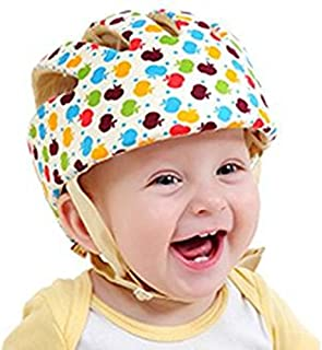 HI9 Infant Protective Hat Baby Toddler Safety Adjustable Helmet Cap Protection Head for Walking Harnesses (Apple)