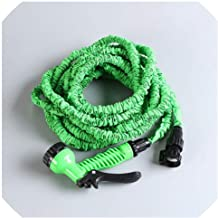 Easy-S-E-H Garden Hoses Reels Plastic Hoses EU Hose Pipe with Garden Supplies Watering Irrigation Home Expandable Water Hose,75Ft,Green