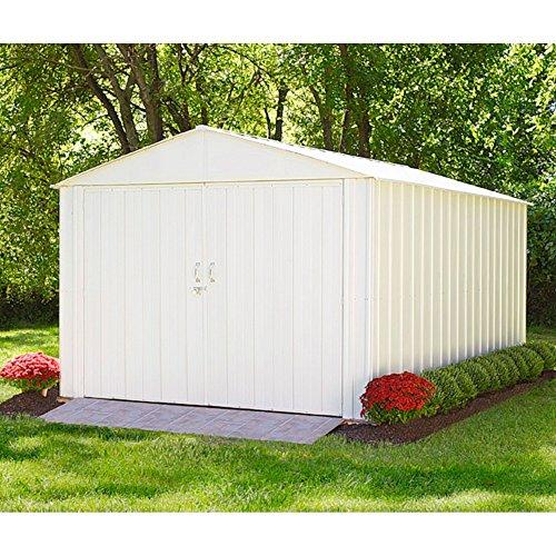 Vitavia Gewächshäuser Arrow Metall-Gerätehaus Commander 1010 Gartenhaus Schuppen Garage 9,4 m²