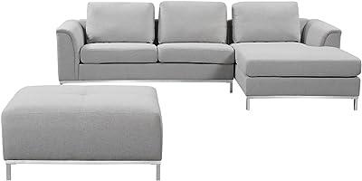 Amazon.com: Homelegance Breaux 2 piezas Juego de sofá de ...