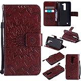 pinlu® Folio Housse de Protection Étui en Cuir PU Stent Function Case Flip Cover pour LG G4c(5...