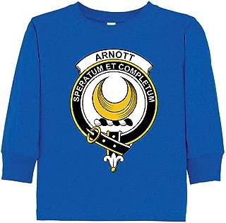 Tenacitee Toddler's Scottish Clan Crest Badge Arnott Long Sleeve T-Shirt