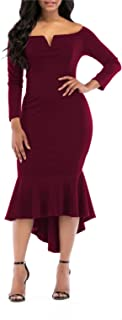 Best solid color bodycon dress Reviews