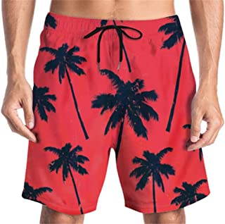 Men's Swim Trunks Quick Dry Bathing Suits Beach Holiday Party Swim Shorts