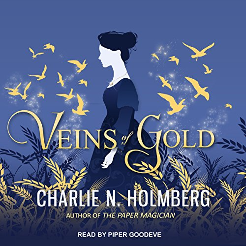 Veins of Gold audiobook cover art