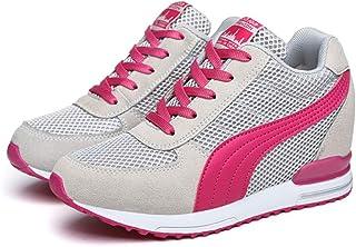 Kimpola Baskets Mode Compensées Femme Chaussures Compensées Plateforme Chaussure de Sport Marche Gym Fitness Sneakers Haut...