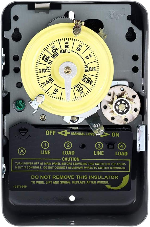 Intermatic T173 DPST 24 Hour 125-Volt 2021 new with Time Switch Topics on TV Type In 1