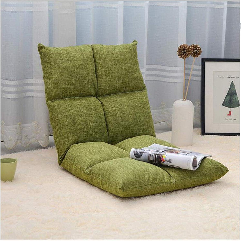 Mejor precio Plegable sofá sofá sofá perezoso silla cómoda sin patas de 5-velocidad de ajuste casual sillas de ordenador plegable fácil de quitar y lavar dormitorio salón sillón,D  las mejores marcas venden barato