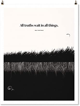 Walt Whitman Grass Print