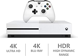 2019 Microsoft Xbox One S 1TB Hard Drive Console (4K Ultra HD Blu-ray) with Wireless Controller and Game Bundle | Dolby Atmos Sound | Wi-Fi | Customize Your Own Xbox one S Bundle