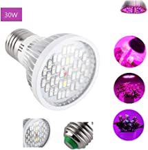 30W LED Plant Grow Light Bulb E27,Acogedor Full Spectrum 40 LED Indoor Plants Growing Light Bulb Lamp for Vegetables Greenhouse and Hydroponic,AC 85~265V