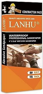 80 grit wet dry sandpaper
