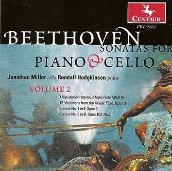 Beethoven, L. Van: Cello Music, Vol. 2