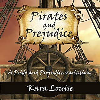 Pirates and Prejudice audiobook cover art