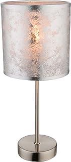 Globo 15188T Lampe de table pour chambre d'ami Argenté