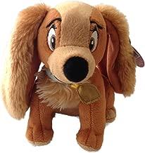 Disney Bean Bag Plush Lady and the Tramp Lady Dog 6