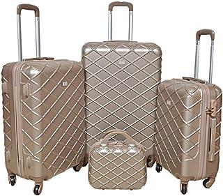 Travel Luggage Trolley Bags Set, Beige, 812-1
