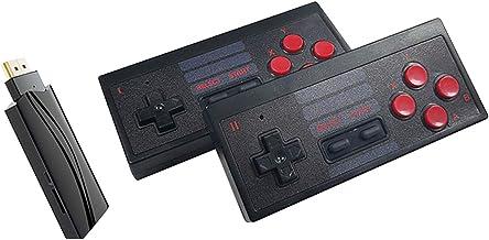 mewmewcat Console de videogame retrô 2.4G jogador de jogos sem fio Controlador portátil Saída de alta definição para 628 j...