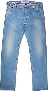 [37] [JACOB COHEN] ヤコブコーエン ジーンズ メンズ ブルー 青 J613COMF 大きいサイズ [21986] [並行輸入品]