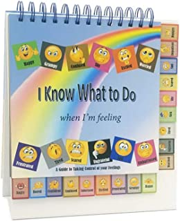 Thought-Spot I Know What to Do Cards for Taking Control of Your Feelings/Emotions; Helps Kids Identify Their Feelings & Emotions; Hardcover and Laminated