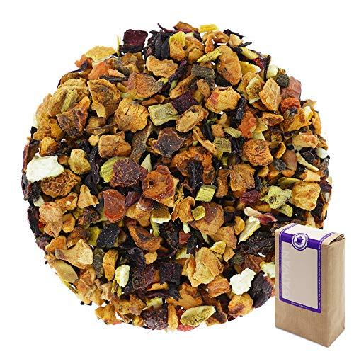 Núm. 1256: Té de frutas orgánico 'Naranja afrutada' - hojas sueltas ecológico - 100 g - GAIWAN® GERMANY - manzana, hibisco, rosa mosqueta, regaliz, naranja, remolacha