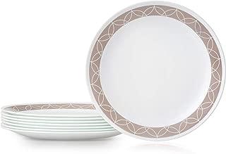 Corelle 1136752 Chip Resistant Dinner Plates, 8-Piece, Sand Sketch