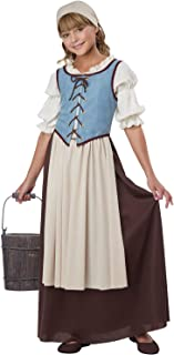 Renaissance Peasant Girl Child Costume