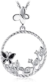 JewelyPalace Animal Family Pendant Necklace 925 Sterling Silver
