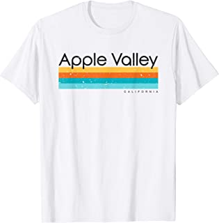 Vintage Apple Valley California CA Retro Design T-Shirt